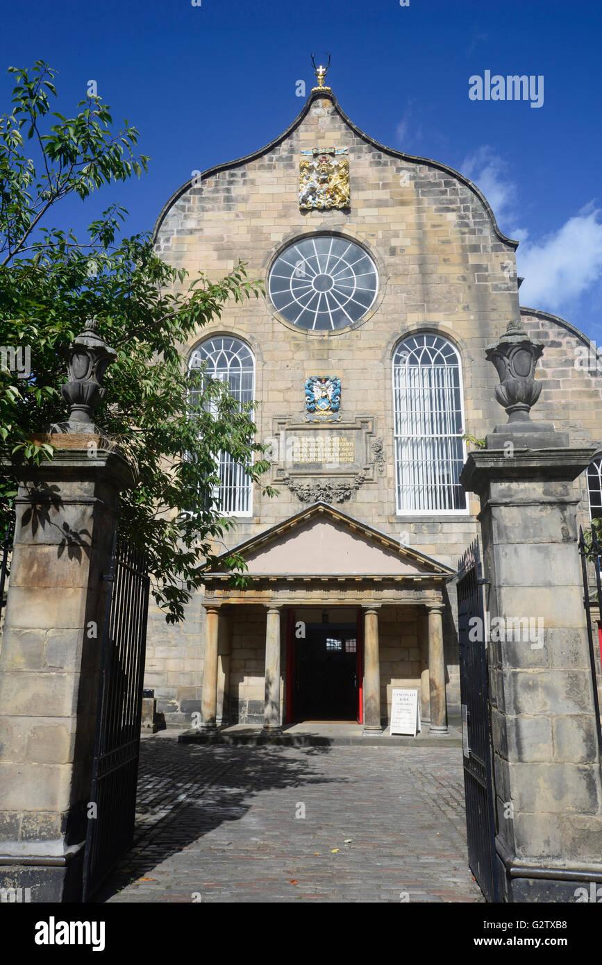 Scotland, Edinburgh, Cannongate Kirk. Stock Photo