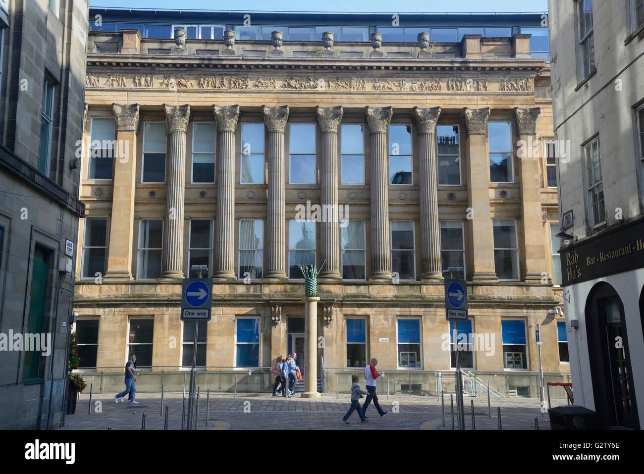 Scotland Glasgow Merchant City The Old Glasgow Sheriff S Court