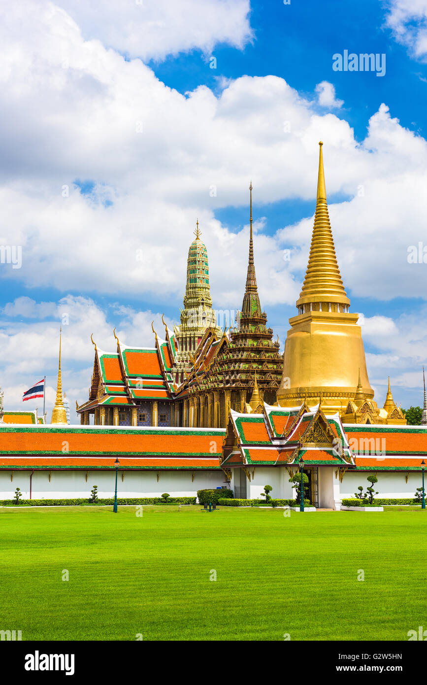 Grand Palace of Bangkok, Thailand. - Stock Image