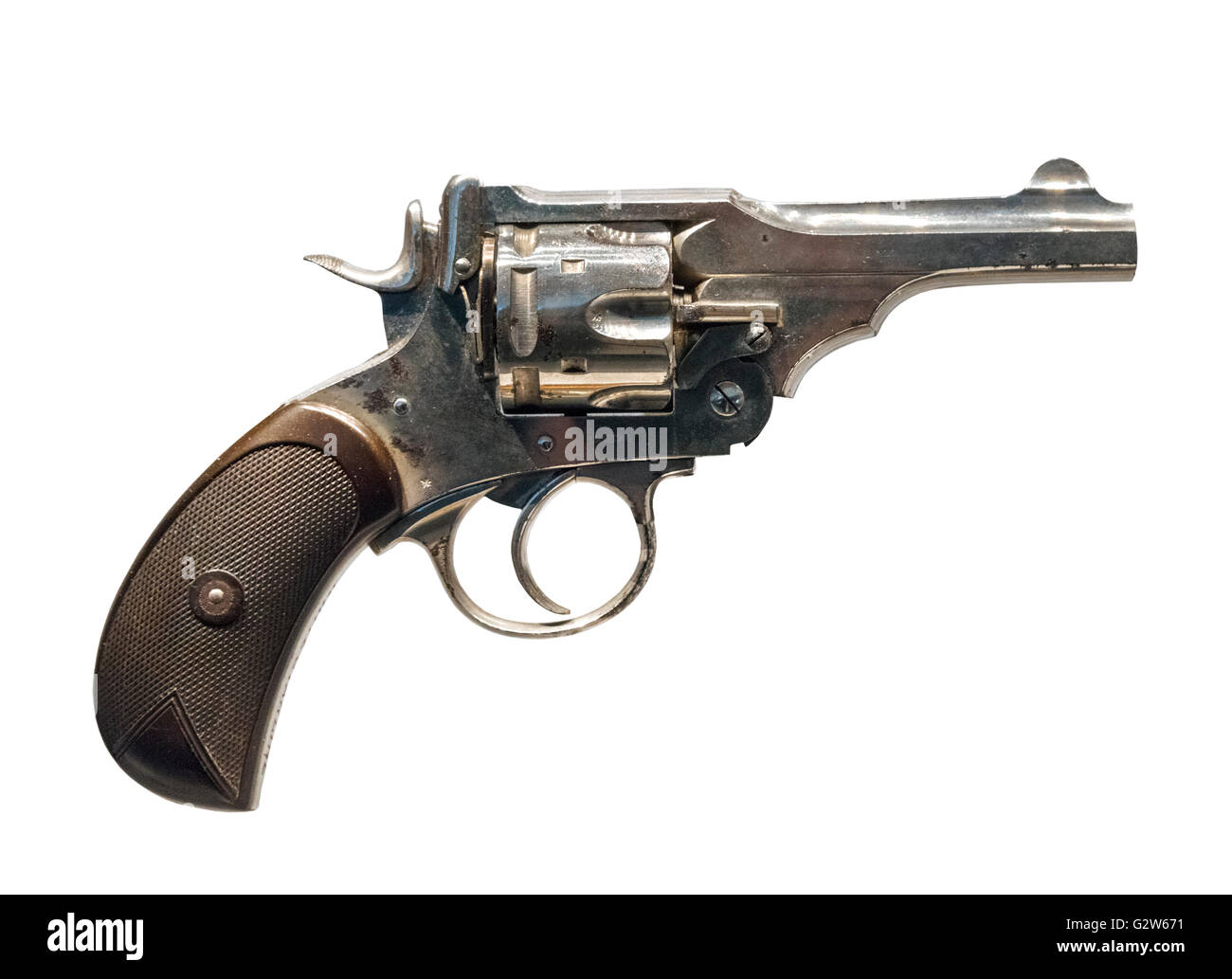 Webley Mark IV Revolver, 1899-1913 - Stock Image