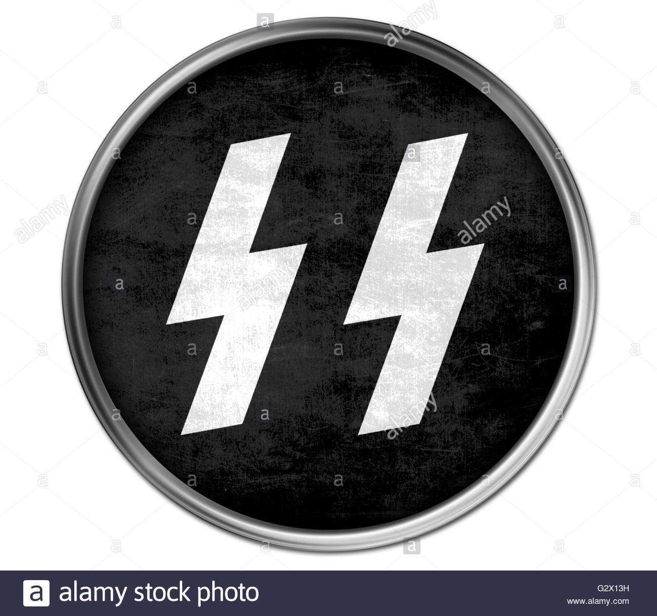 Nazi SS Logo Icon Stock Photo: 105063157