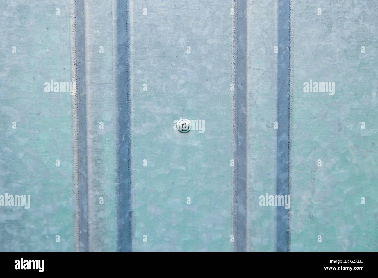 Corrugated metal sheet wall background texture Stock Photo ...