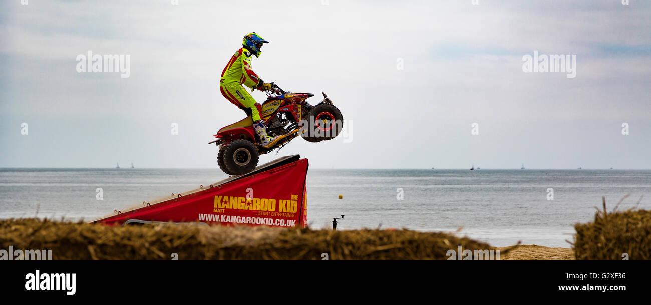 Wheels Festival Bournemouth Stock Photo