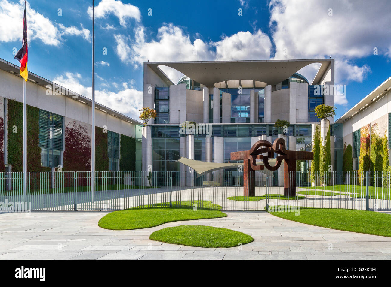 German Federal Chancellery Building , Berlin , Germany Stock Photo