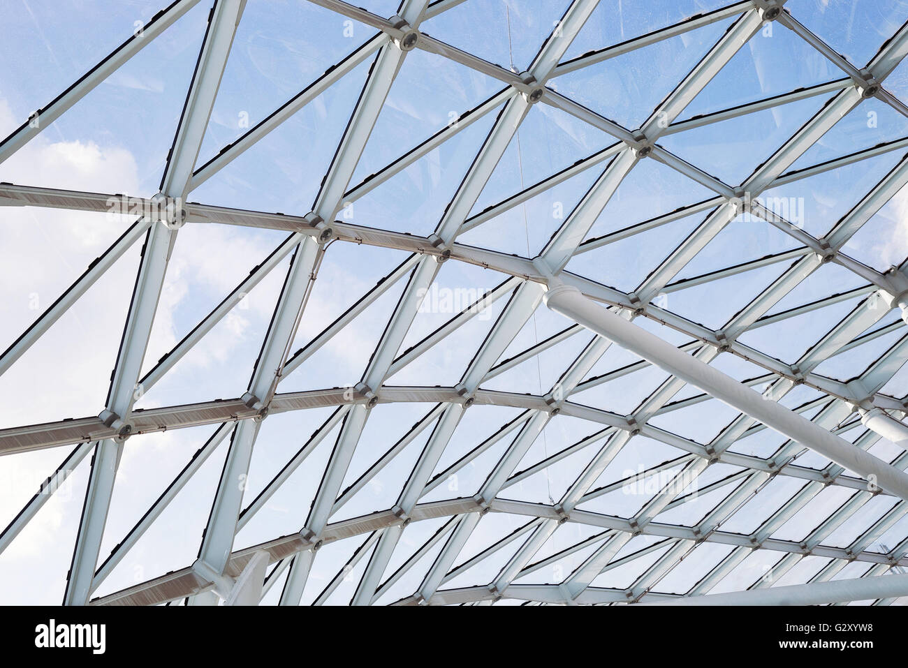 Steel Glass Roof Ceiling Wall Construction Transparent Window With
