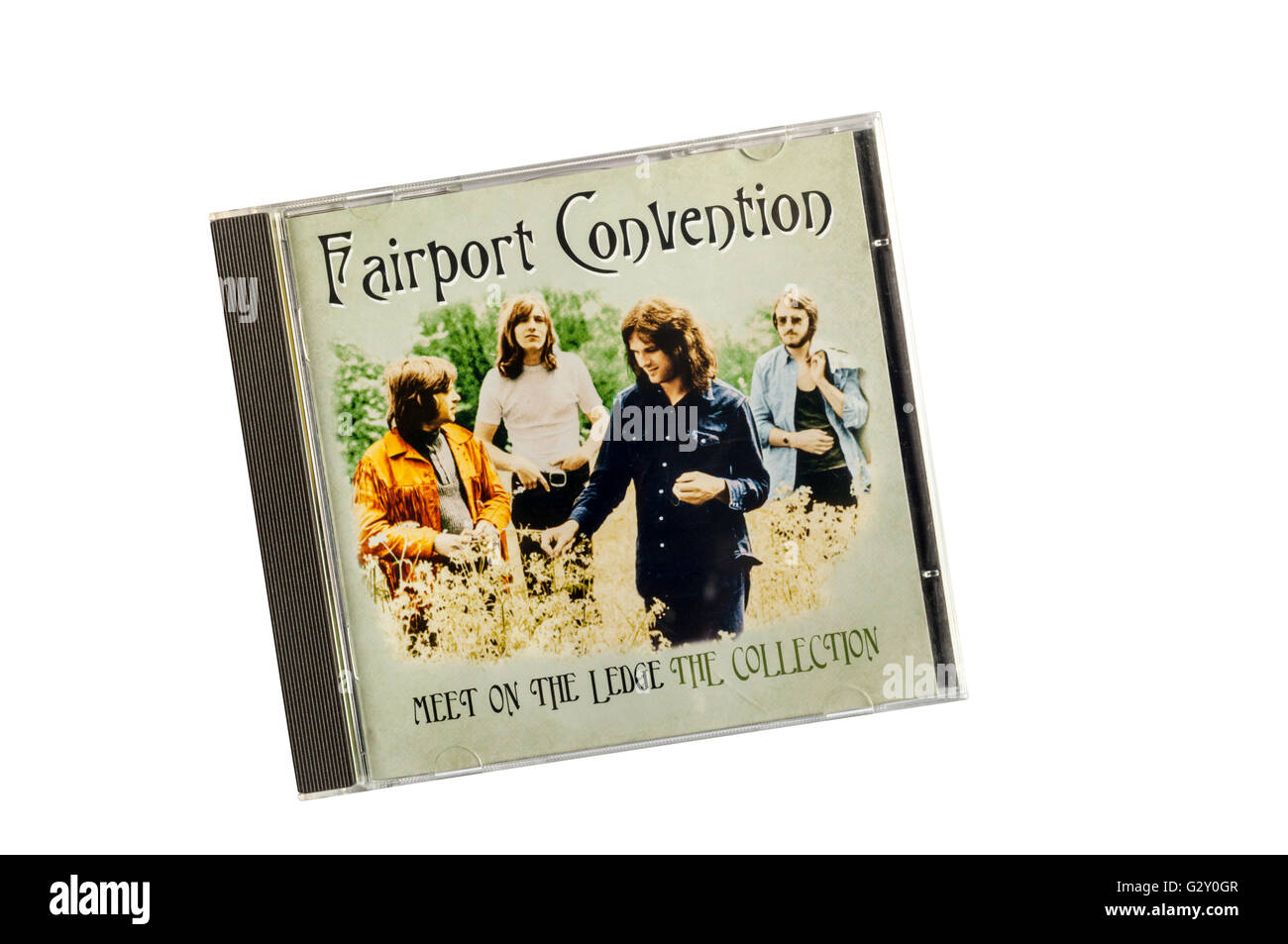 Meet On The Ledge is a compilation album by English folk rock band Fairport Convention. - Stock Image