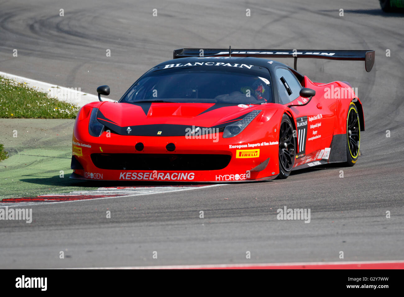 Ferrari 458 Italia Gt3 High Resolution Stock Photography And Images Alamy