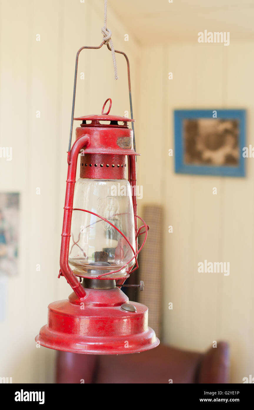 Old oil lamp - Stock Image