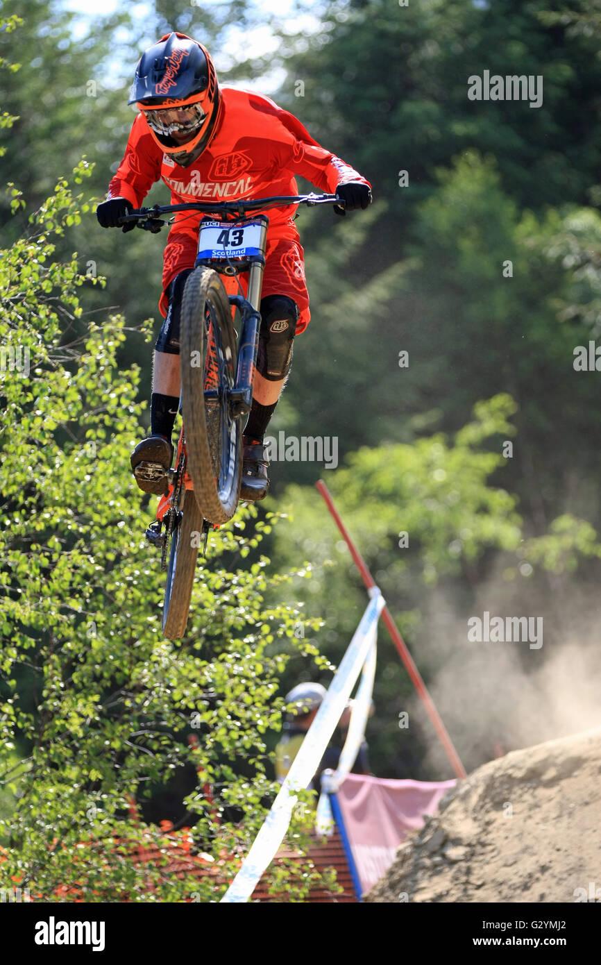 Mountain Bike Course Stock Photos & Mountain Bike Course ...