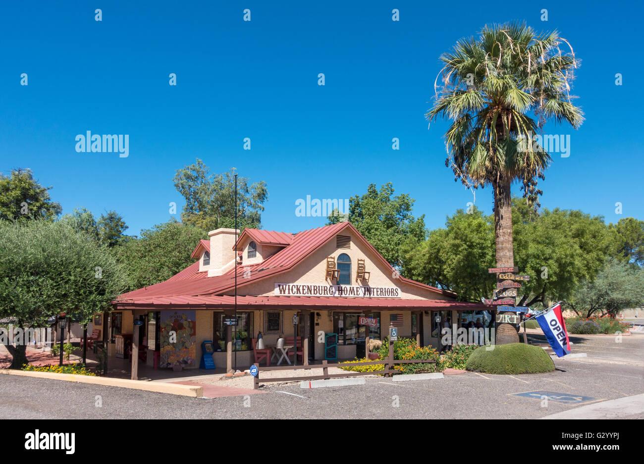 Arizona, Wickenburg Home Interiors Store - Stock Image
