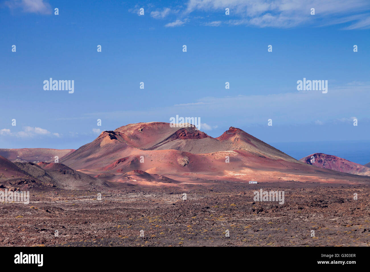 Fire Mountains Montanas Del Fuego Timanfaya National Park Stock Photo Alamy