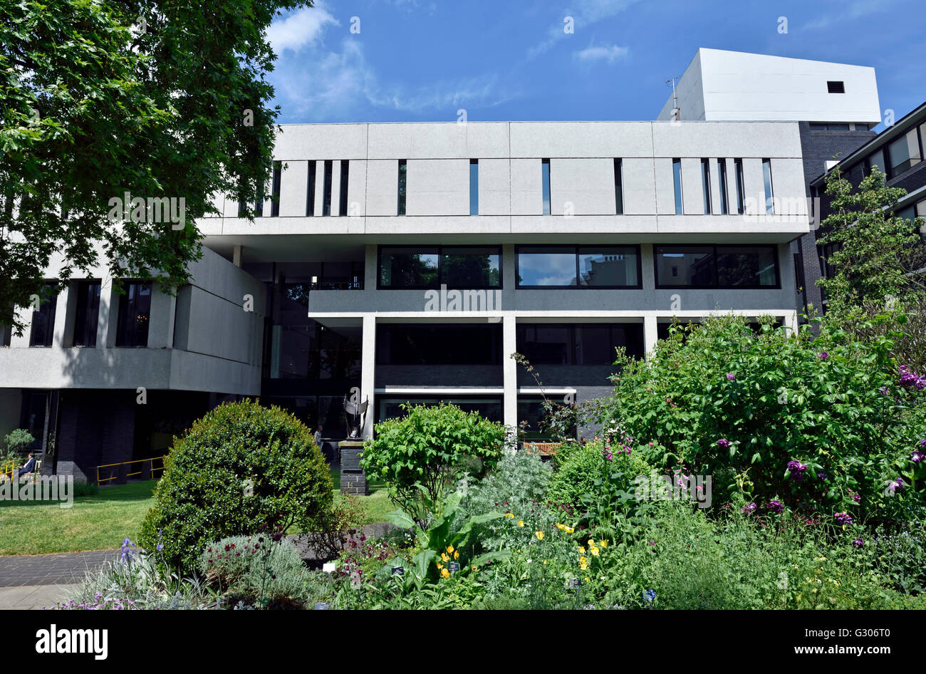 The Royal College of Physicians, new building, City of Westminster London England Britain UK - Stock Image