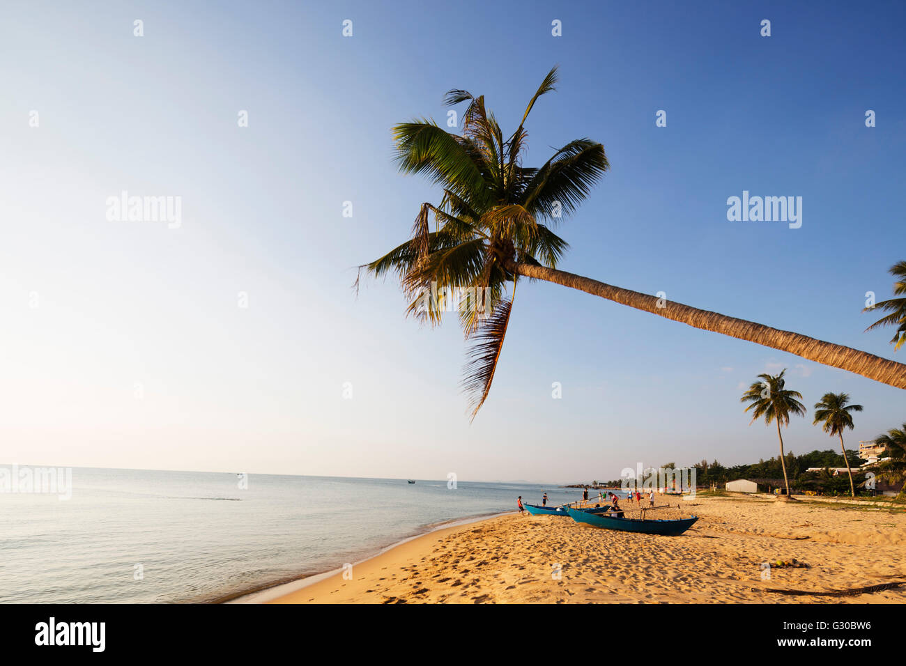 Long Beach, Phu Quoc Island, Vietnam, Indochina, Southeast Asia, Asia - Stock Image