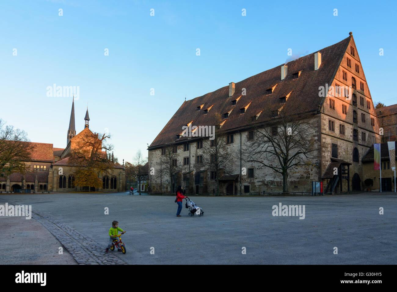Maulbronn Monastery : monastry church and Fruchtkasten, Germany, Baden-Württemberg, Kraichgau-Stromberg, Maulbronn Stock Photo