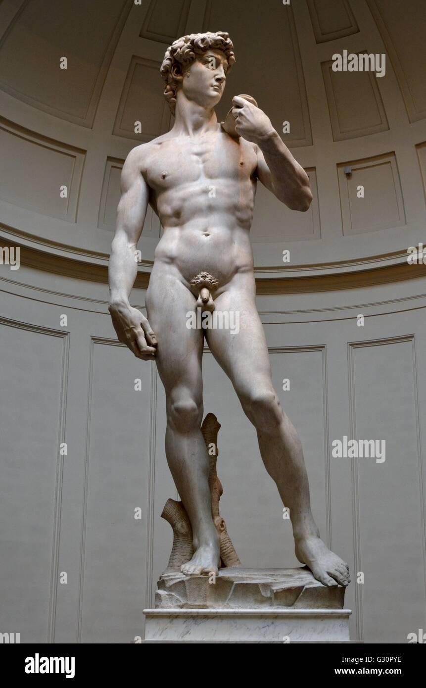 Michelangelo's David - Stock Image