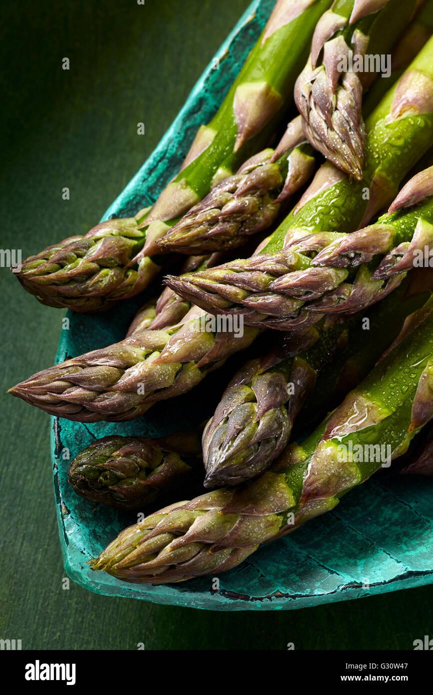 Asparagus spears - Stock Image