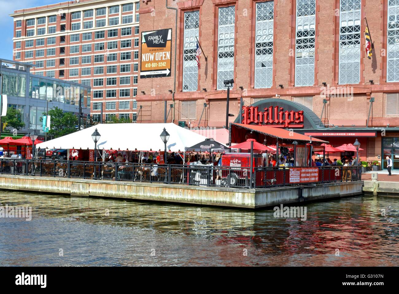 Baltimore Inner Harbor Seafood Restaurant And Barnes And