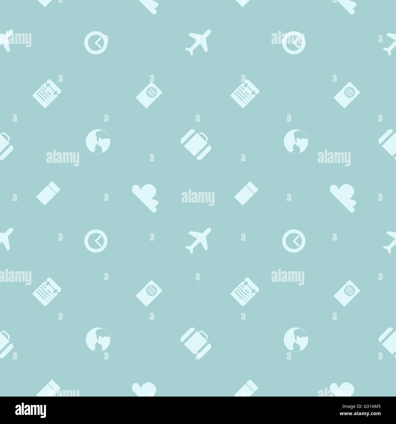 Vector seamless pattern theme business travel can be used for theme business travel can be used for cards web background wrapping paper shopping bags covers colourmoves