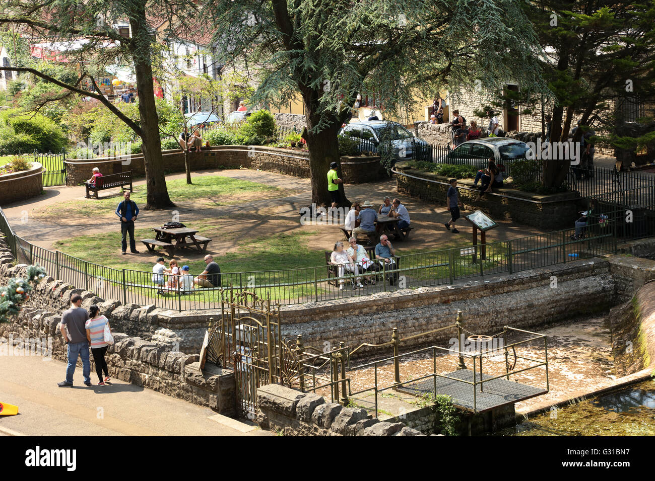 Place to relax stock photos place to relax stock images - Cheddar gorge hotels with swimming pools ...