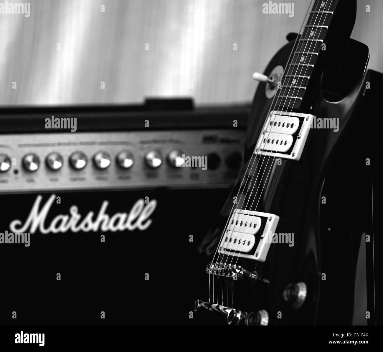 marshall amp stock photos marshall amp stock images alamy. Black Bedroom Furniture Sets. Home Design Ideas