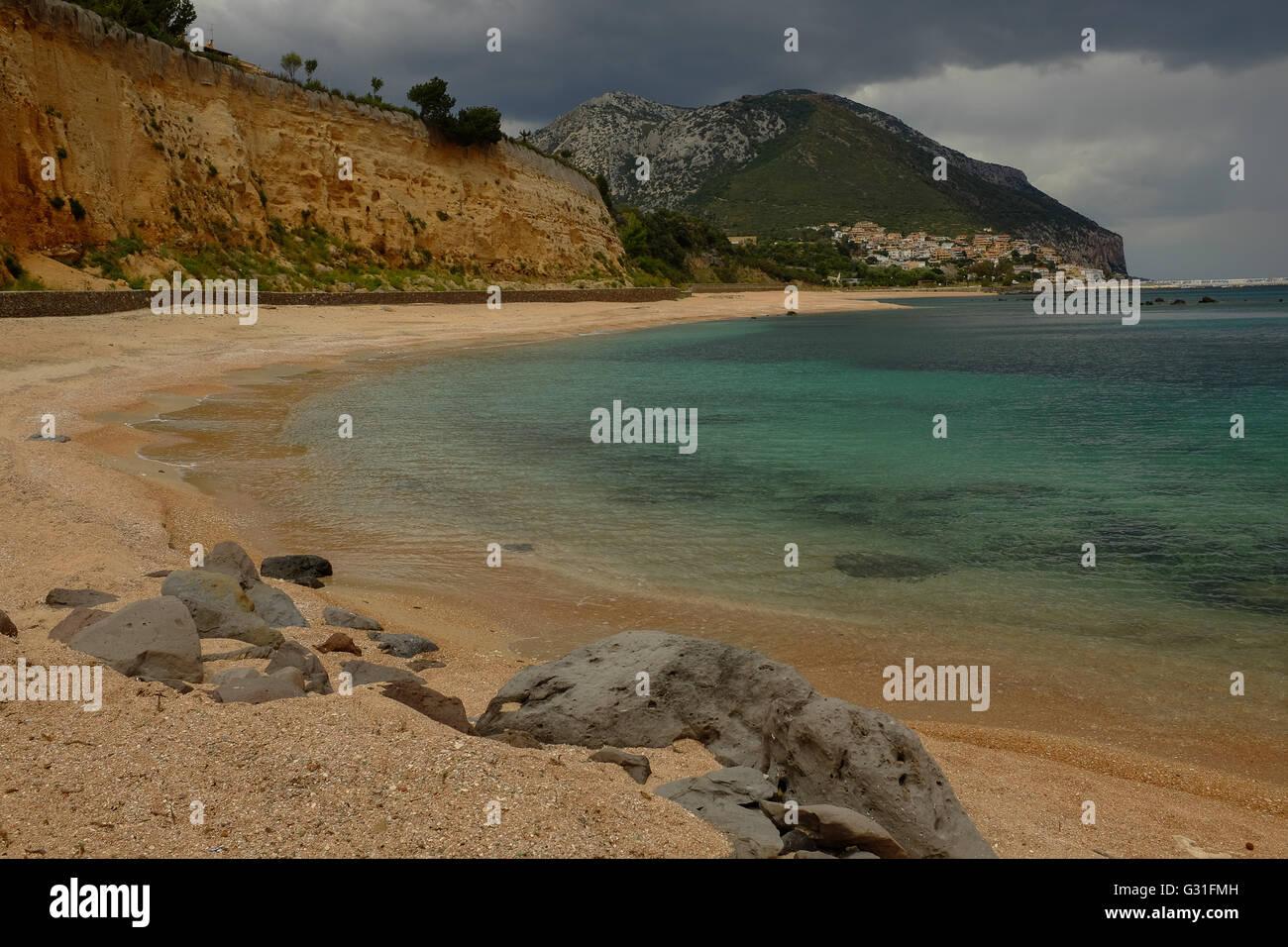 Beach, Northern Sardinia - Stock Image