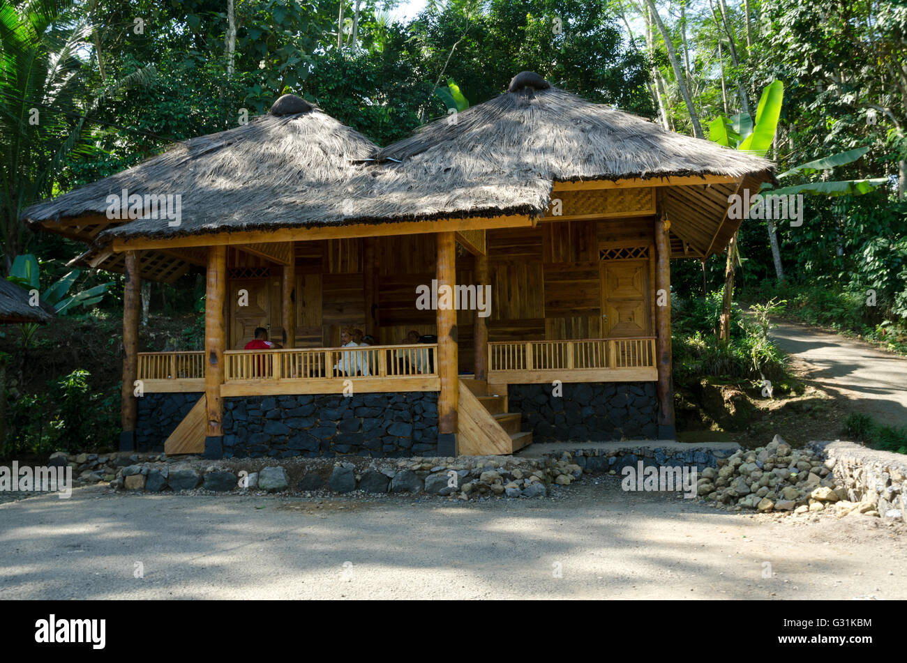 Custom homes stock photos custom homes stock images alamy kampung kuta traditional sundanese village stock image malvernweather Image collections