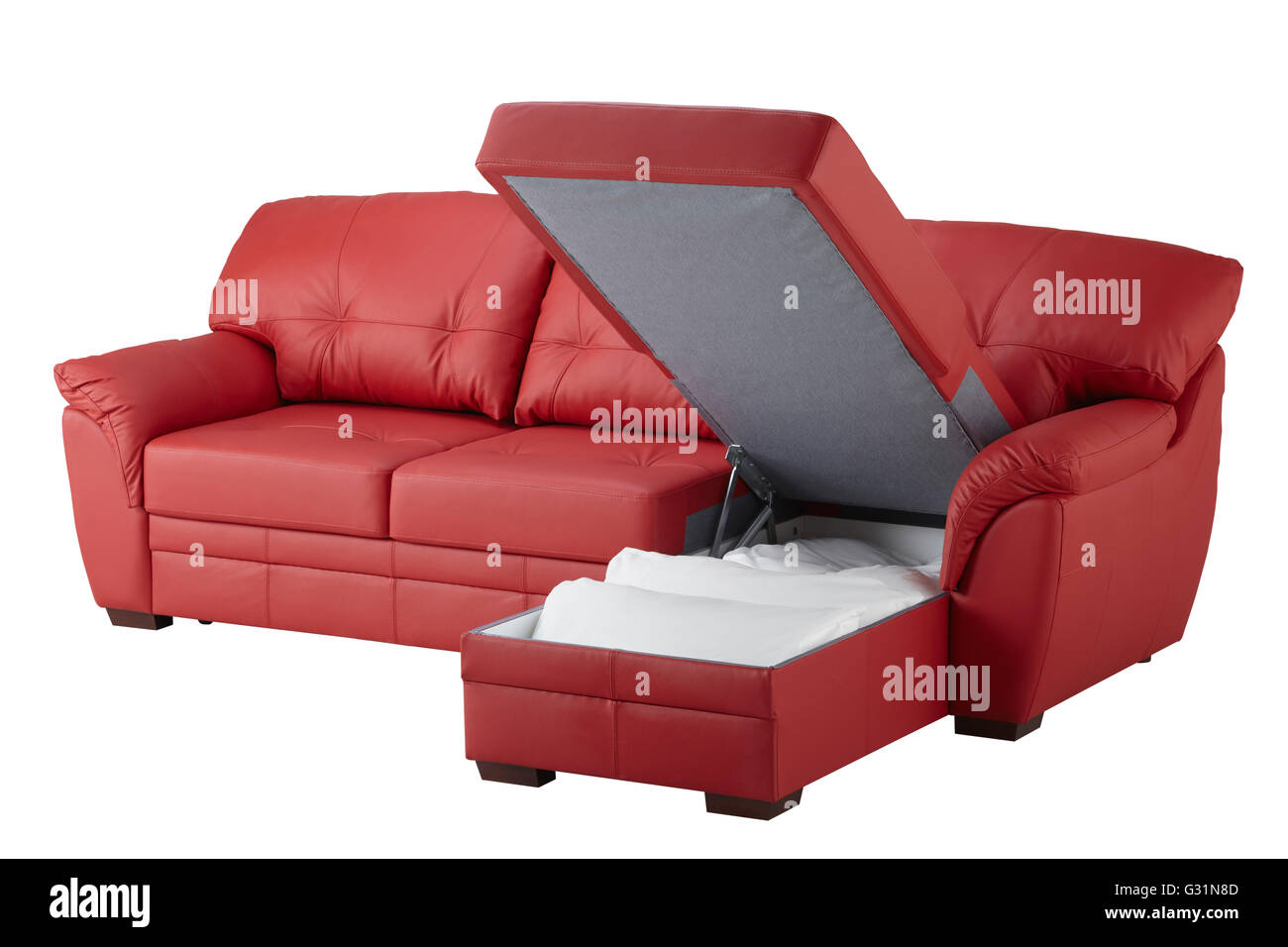 https://c8.alamy.com/comp/G31N8D/red-leather-corner-sofa-bed-with-storage-isolated-on-white-include-G31N8D.jpg