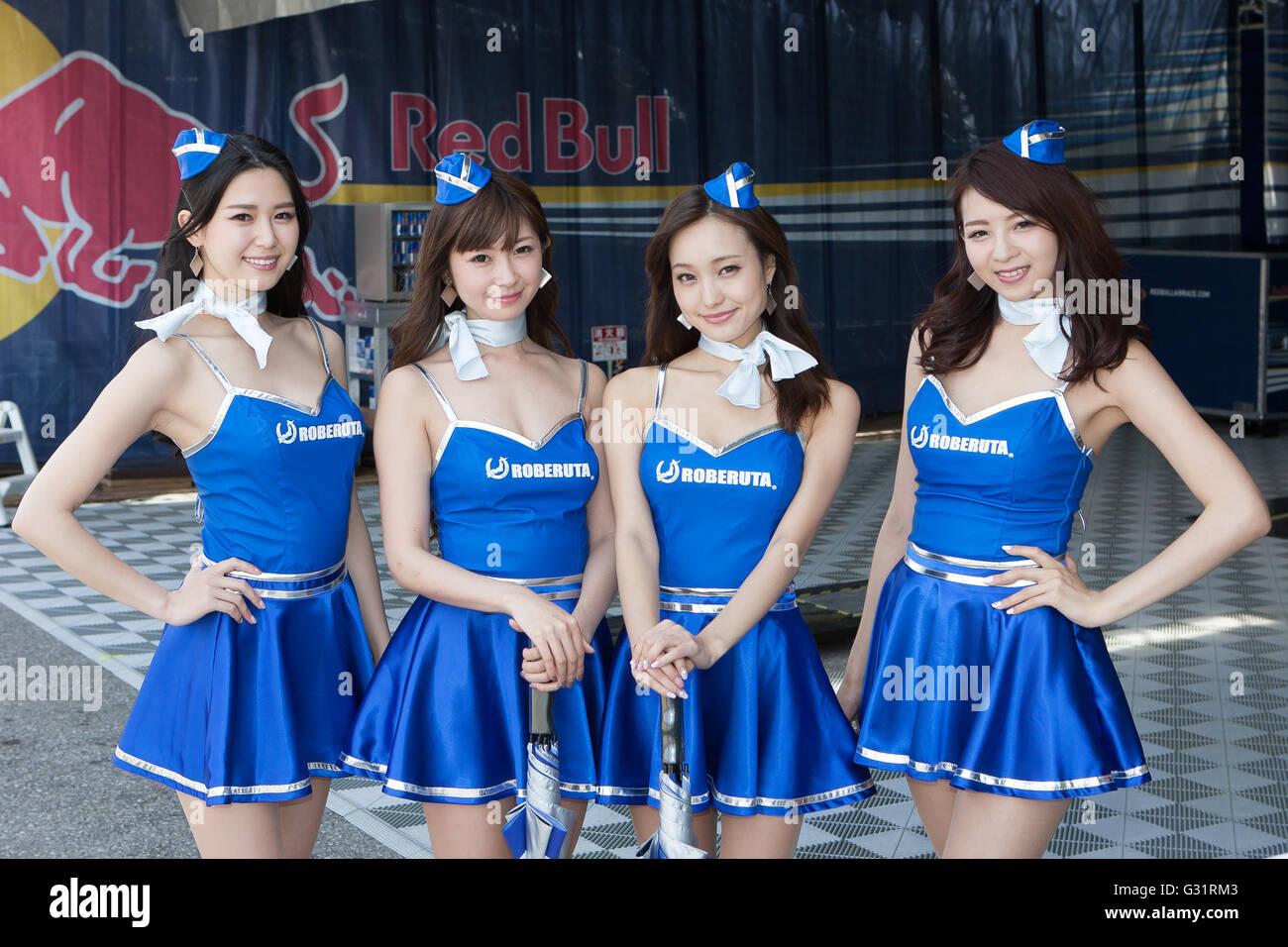 Japanese race queen benetton - 4 8