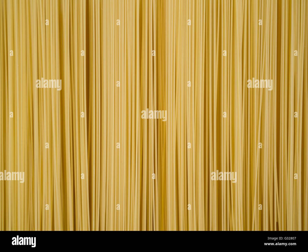 Italian hand made pasta, home made speghetti - Stock Image