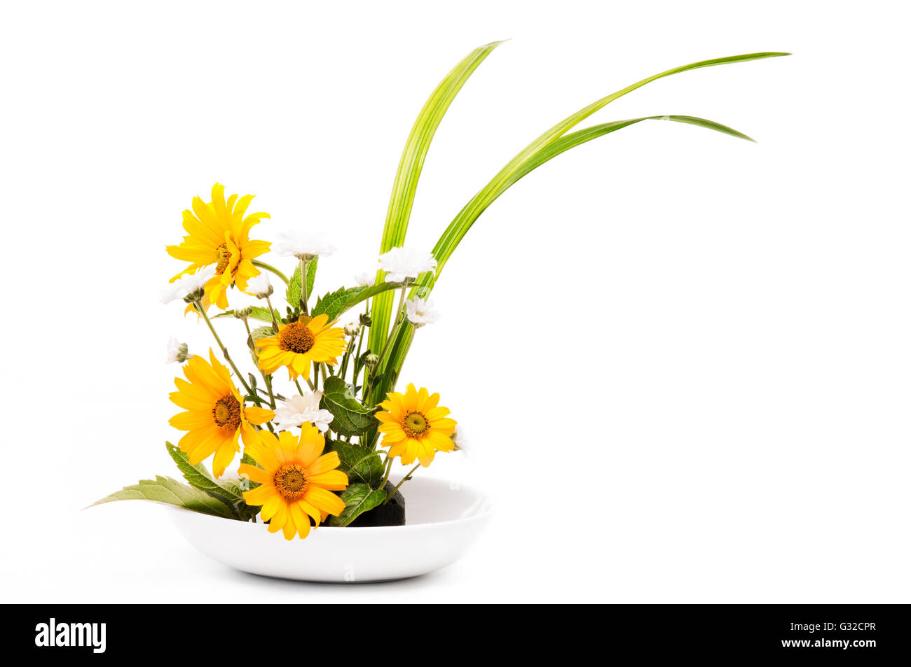 Japanese Flower Arrangement Ikebana Stock Photos Japanese Flower