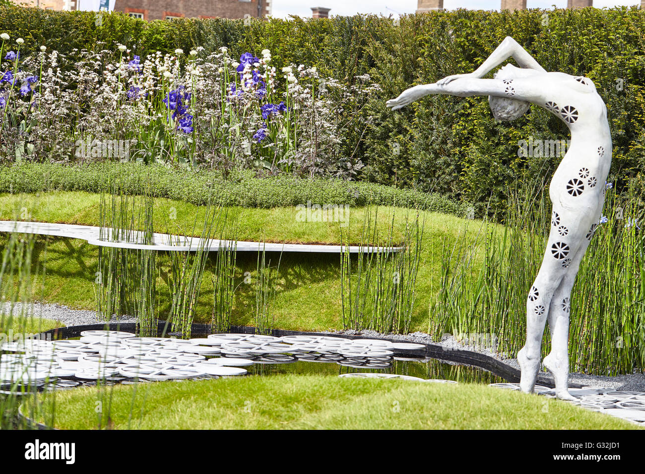 Chelsea Flower Show 2016 The Imperial Garden Revive Tatyana Goltsova - Stock Image