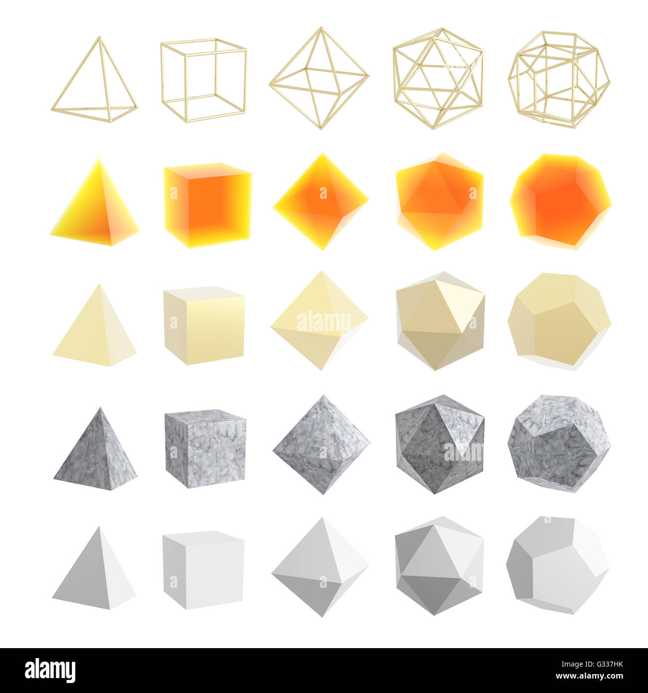 Platonic Solid Stock Photos Platonic Solid Stock Images Alamy