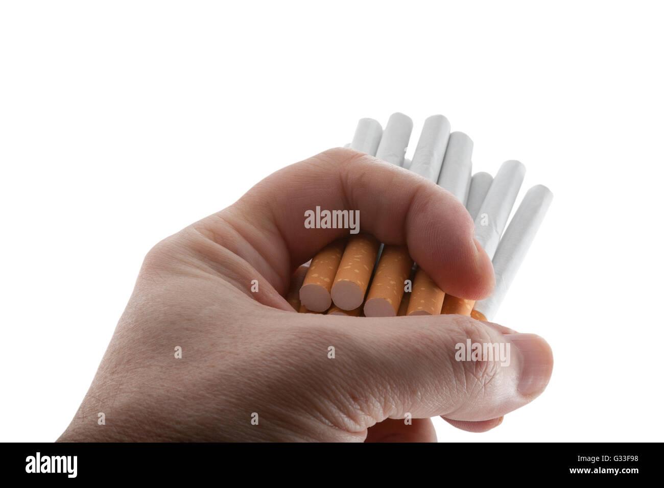 lethal dose of nicotine - Stock Image