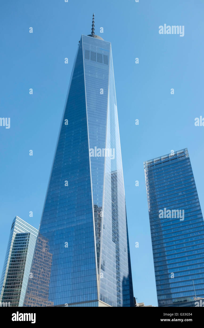 One World Trade Center, New York City, NYC, USA - Stock Image