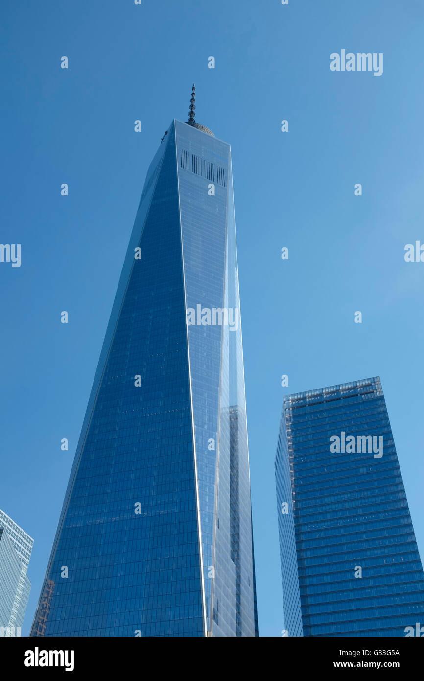 New York City, One World Trade Center - Stock Image