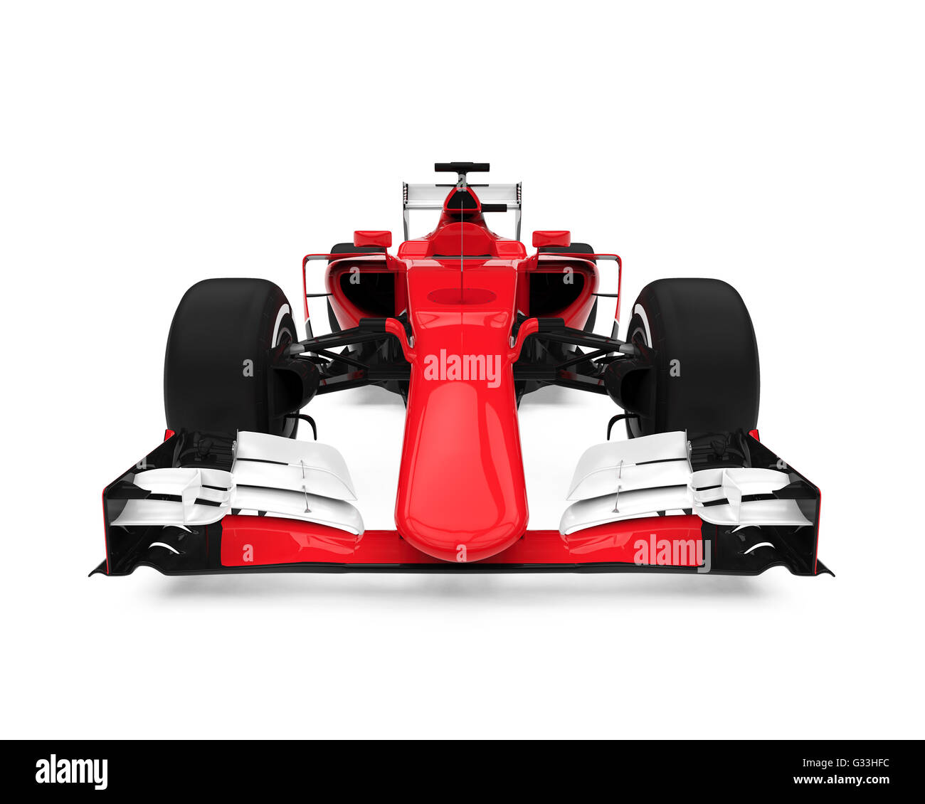 Formula One Race Car - Stock Image