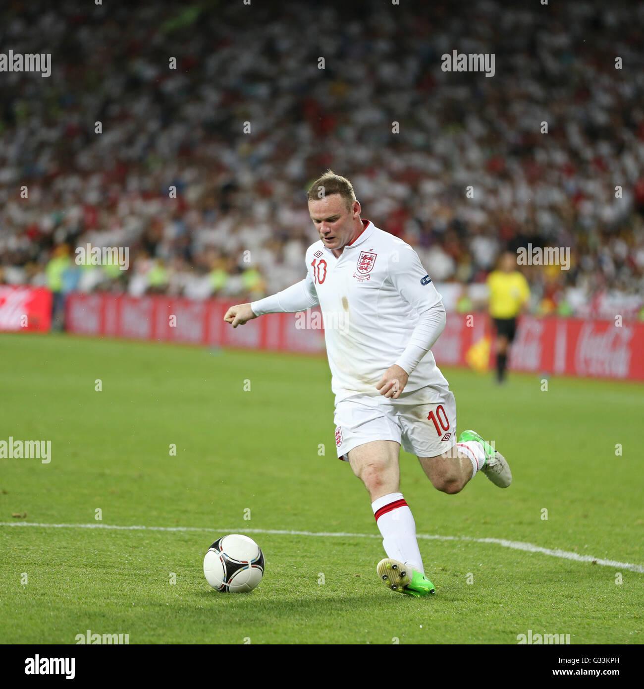 Wayne Rooney Celebrity Football Euro 2012 England Face Card Mask