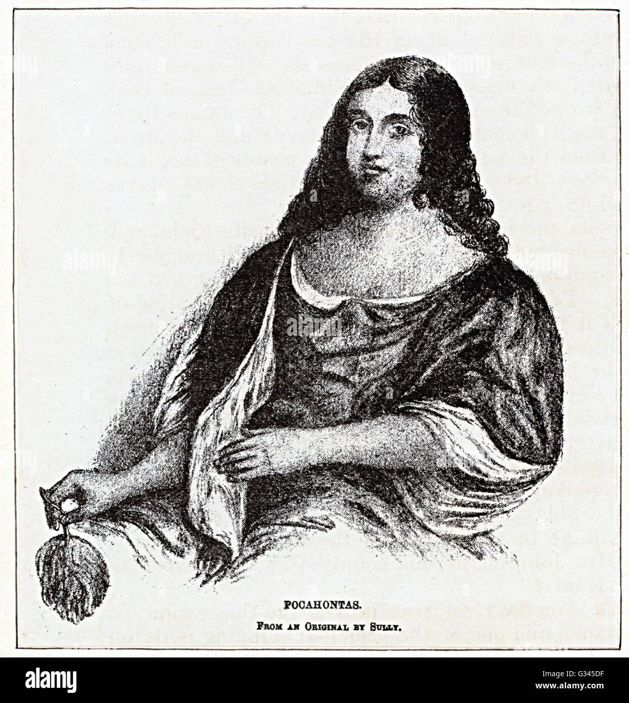 Pocahontas Stock Photo