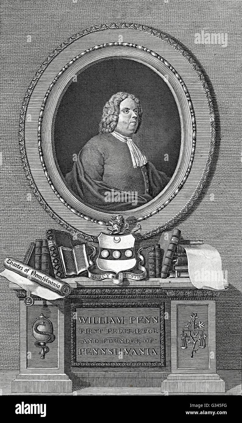 William Penn Stock Photo
