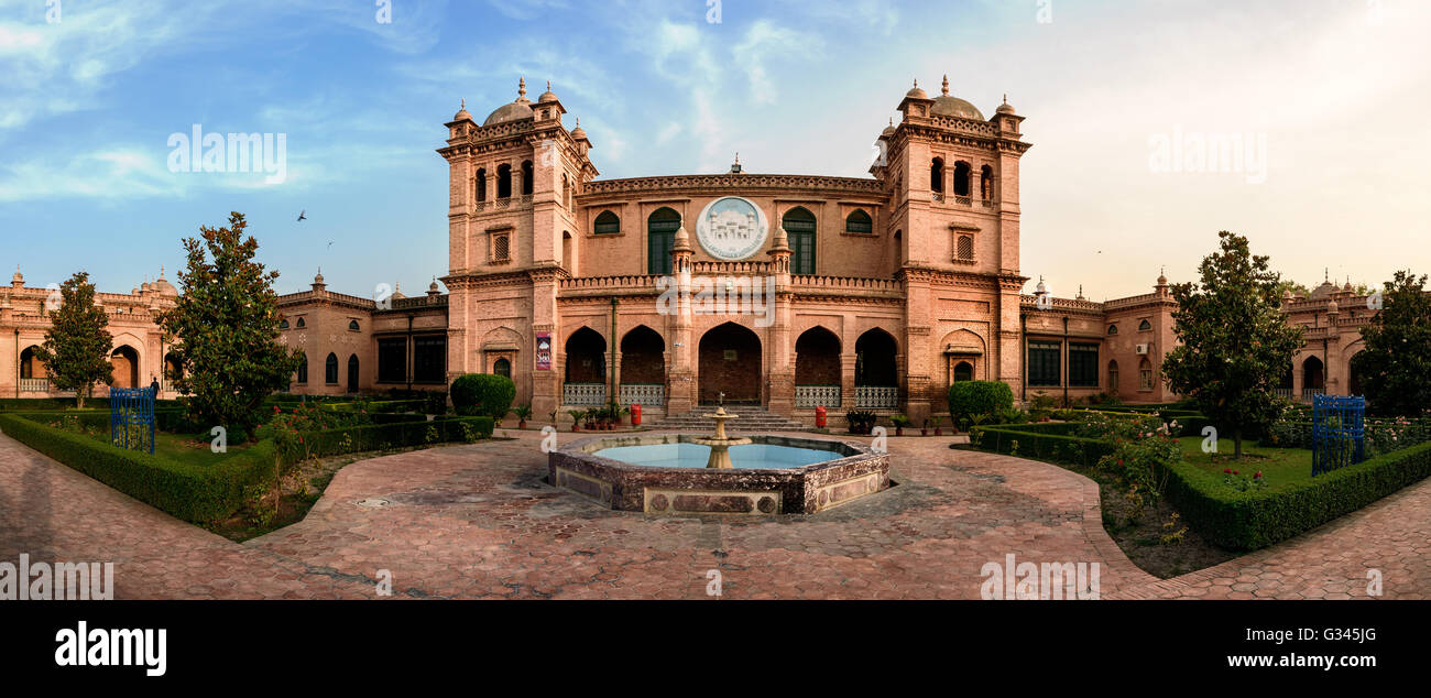 Islamia College University is a public research university located in midst of Peshawar, Khyber Pakhtunkhwa, Pakistan - Stock Image
