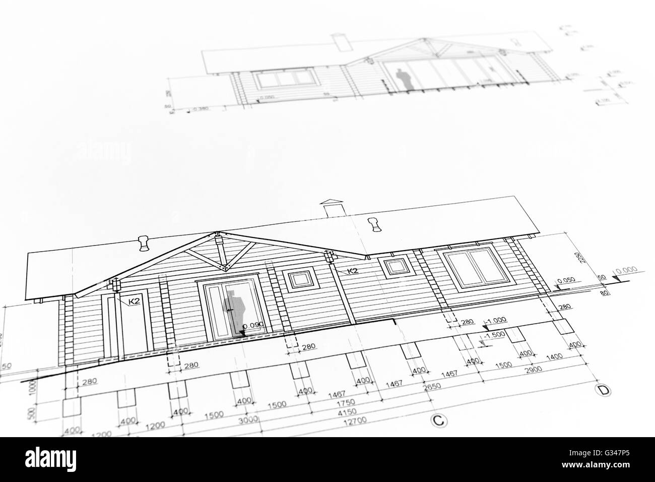 House plan blueprints for new housing development architectural house plan blueprints for new housing development architectural background malvernweather Images