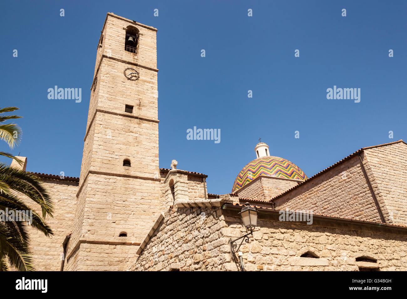 Chiesa Di San Paolo, Saint Paul's Church, Olbia, Sardinia, Italy - Stock Image