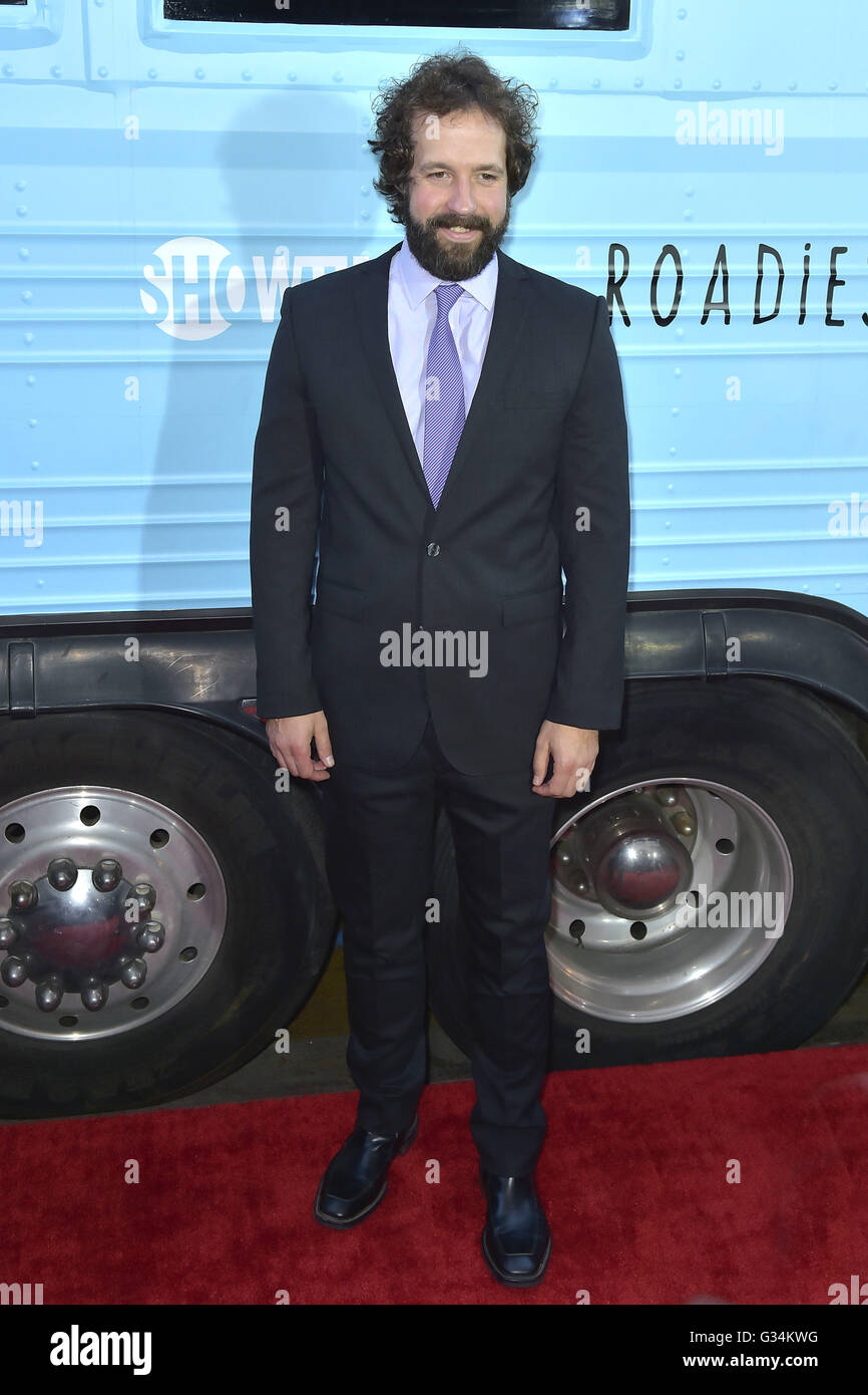 Peter Cambor attends the premiere for Showtime's 'Roadies' at Theatre at Ace Hotel on June 06, 2016 - Stock Image