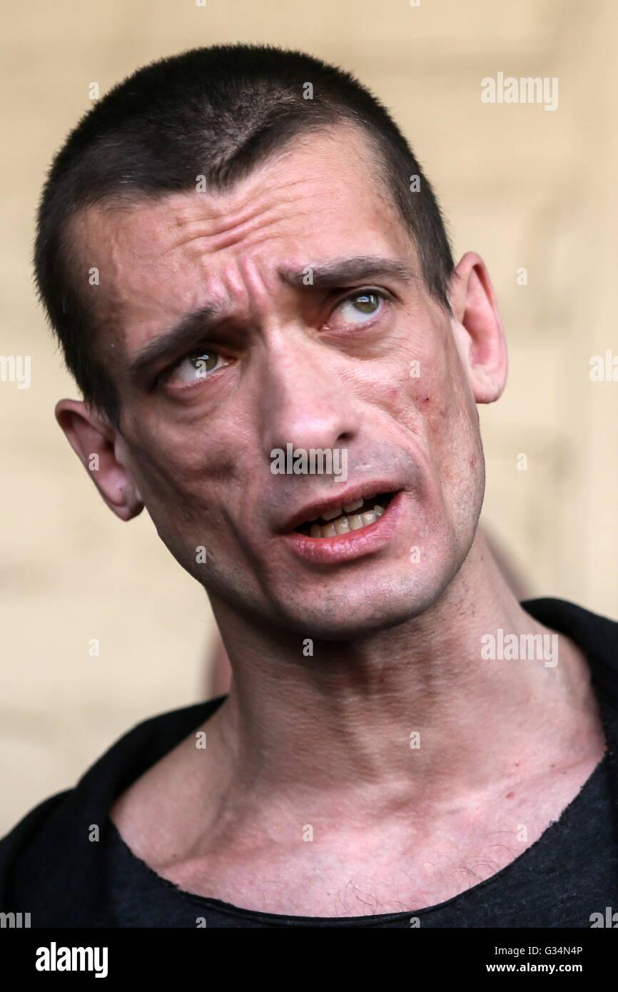 Pyotr Pavlensky Ear