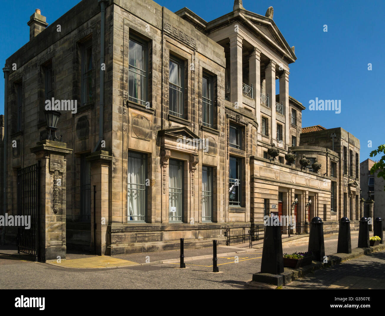 University of St Andrews Younger Hall Music Centre Fife Scotland hosts performances by professional and amateur - Stock Image