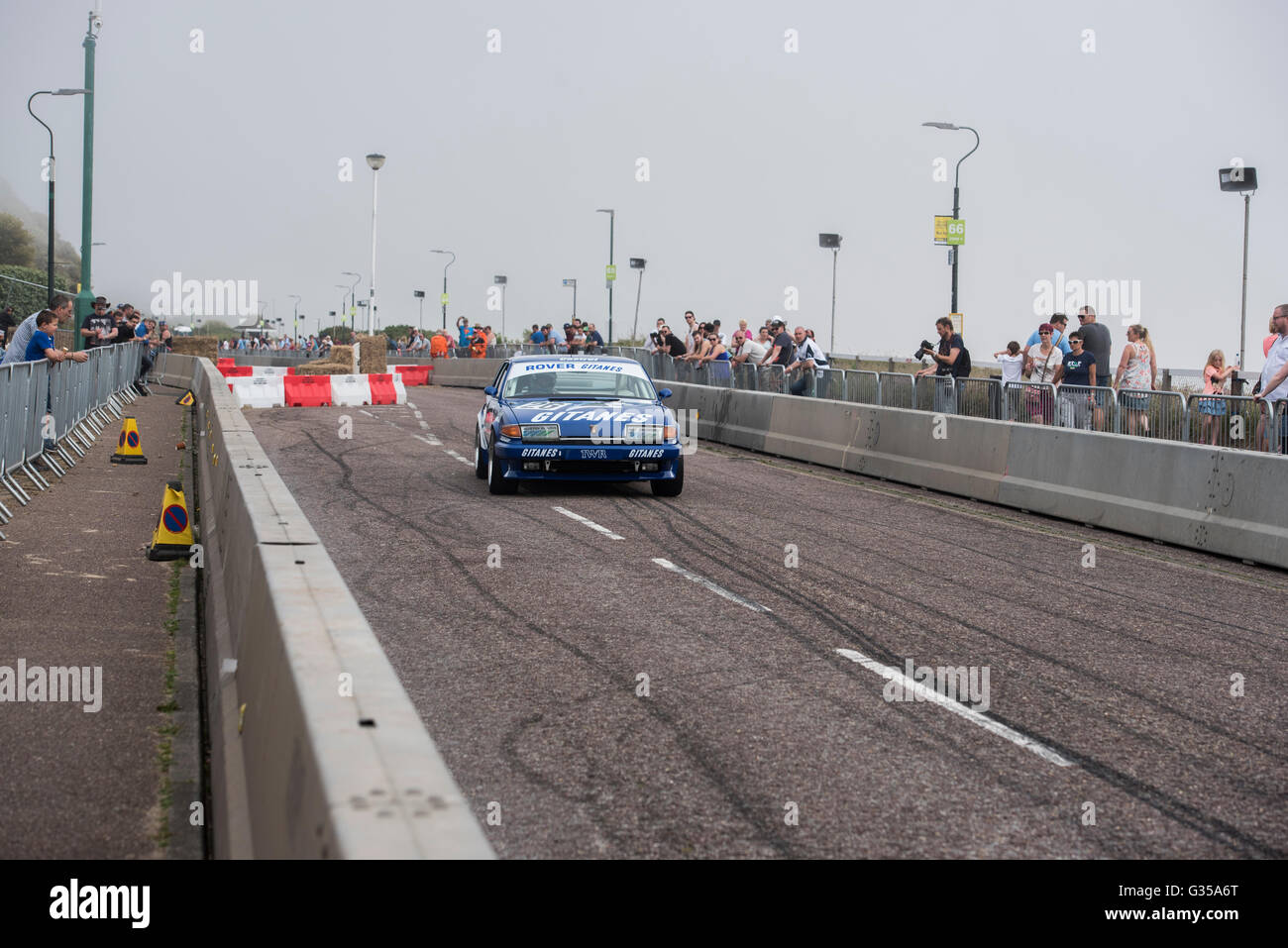 Touring Cars at The Bournemouth Wheels Festival 5th June 2016 - Stock Image