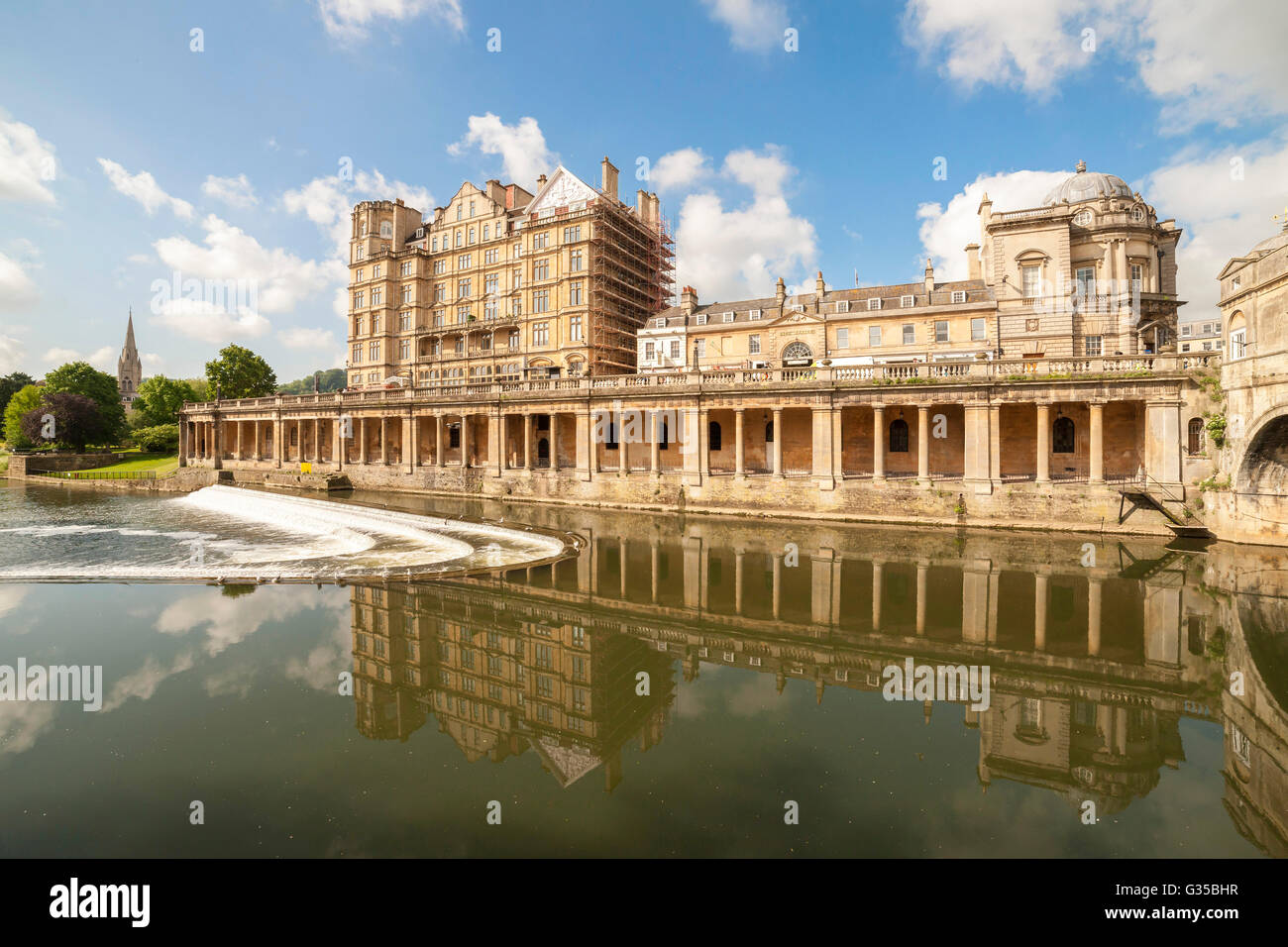 The Historic town of Bath, Somerset. - Stock Image