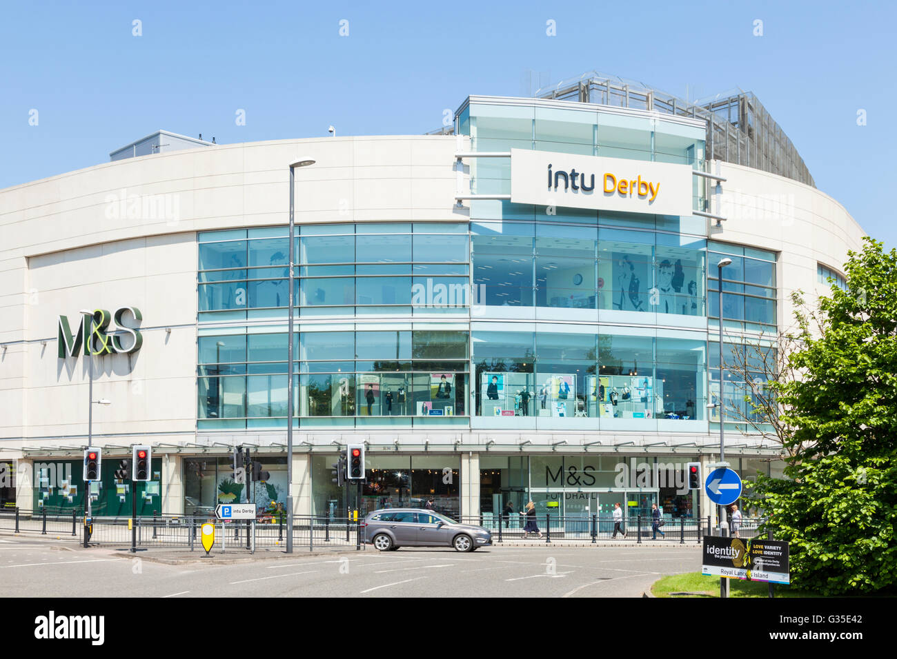 intu Derby shopping centre, Derby, England, UK - Stock Image
