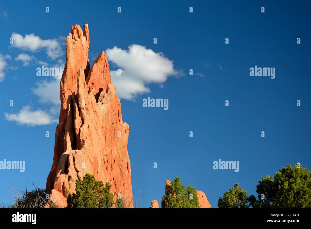 Three Graces Garden of the Gods Colorado Springs - Stock Image
