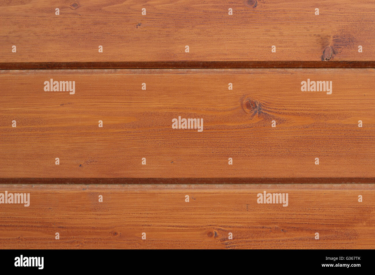 Three colored wooden horizontal board background photo - Stock Image